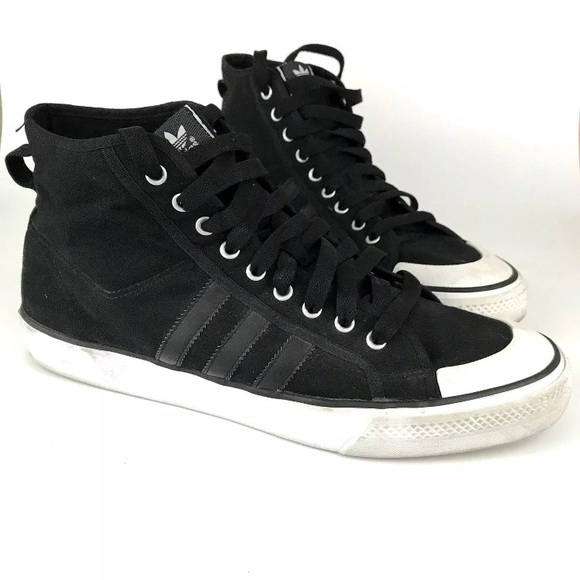 4c7b8cee723d4a adidas Other - Mens Adidas Nizza Trainer High Top Shoes Size 13